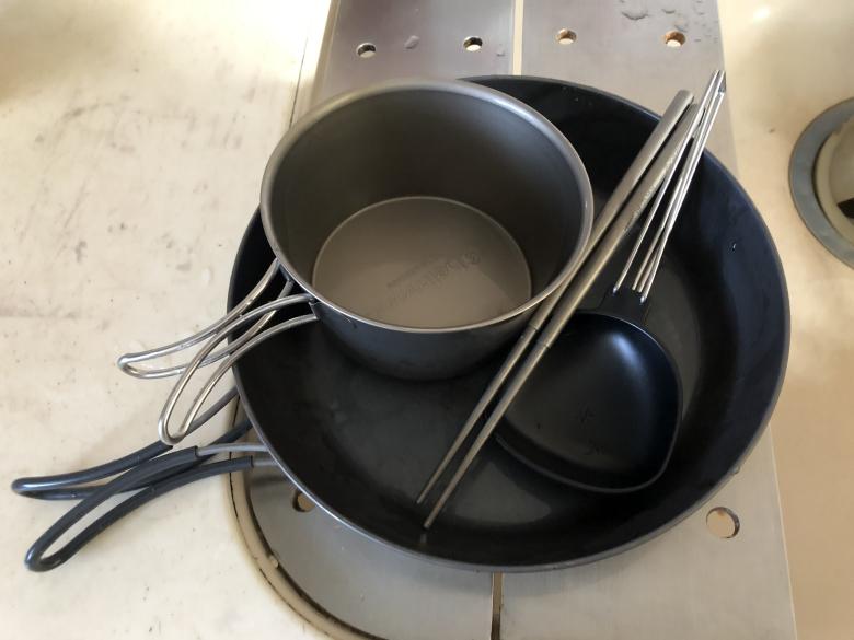 ソロキャンプ鍋セット